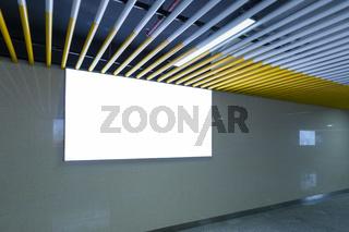 light box on passage