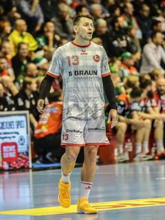 Yves Kunkel, MT Melsungen, Liqui Moly HBL, Handball-Bundesliga Saison 2019-20