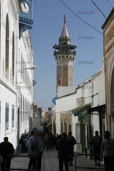 TUNISIA TUNIS CITY MEDINA YOUSSEF DEY MOSQUE