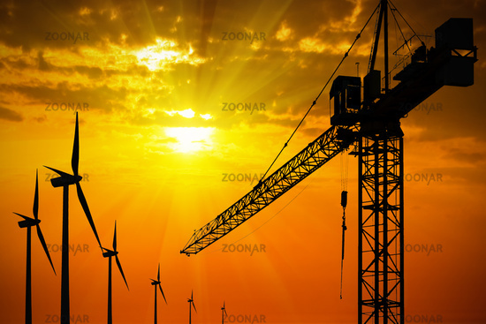 Green building trends wind turbines