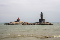 Thiruvalluvar Statue in Kanyakumari, India