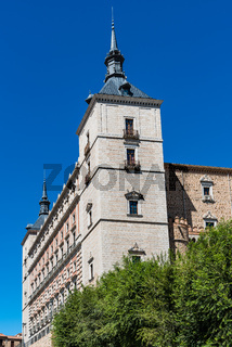 Alcazar of Toledo Palace in Castilla La Mancha, Spain