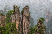 Tianzi Avatar mountains nature park - Wulingyuan China