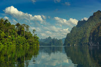 Cheow Lan lake in Thailand