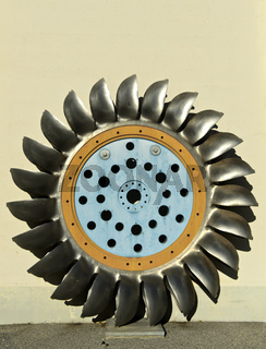 Turbinenschaufelrad eines Wasserkraftwerks