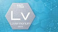 Chemical element of the periodic table - Livermorium