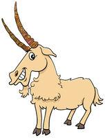 goat farm animal cartoon comic character