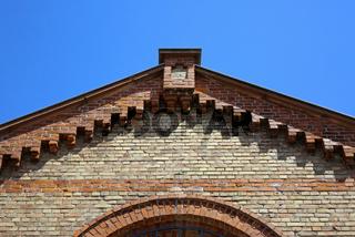 Dachgiebel, Klinkerhaus