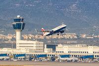 British Airways Airbus A321neo Flugzeug Flughafen Athen in Griechenland