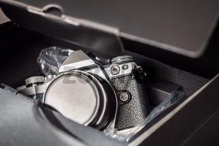 Returning a camera for repair