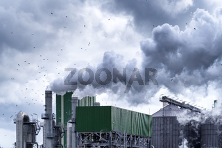 petrochemical plant in rotterdam