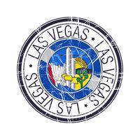 City of Las Vegas, Nevada vector stamp
