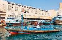 Abra boat in Dubai