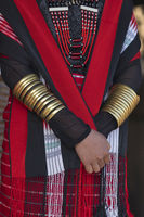 Naga tribal accessories, Hornbill festival, Nagaland, India