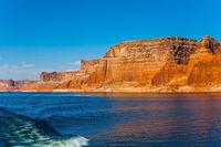 Grandiose cliffs - red sandstone