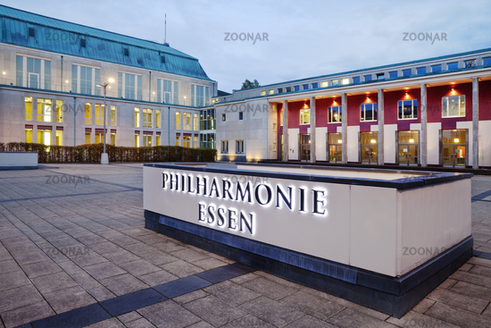Saalbau, seat of the Essen Philharmonic, Essen, North Rhine-Westphalia, Germany, Europe