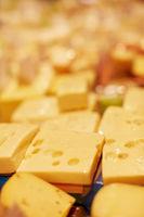 Emmentaler in der Käsetheke