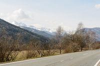 View in Sankt Margarethen im Lungau with mountains - Austria