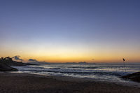 Late night at Devil's Beach in Ipanema