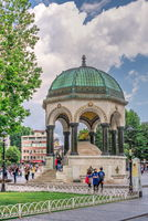 German fountain in Istanbul, Turkey