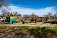 Stolley Park Kids Kingdom Grand Island Nebraska Taped Off Covid-19