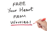 Free your heart from worries