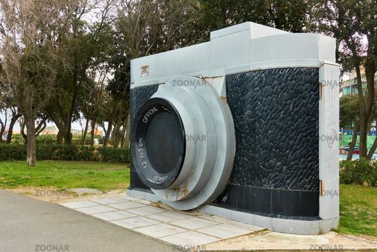 The Camera - Monument in Rimini