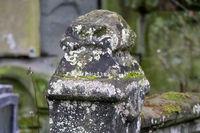 Abgrenzung auf dem Melatenfriedhof in Köln