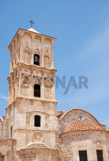 The belfry of the Church of Saint Lazarus. Larnaca. Cyprus
