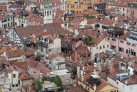 Panoramic view of the old town of Venice - Italy