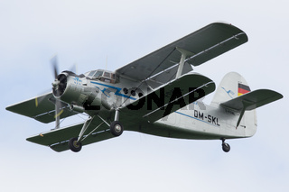 Oostwold, Netherlands May 25, 2015: Antonov AN-2 aircraft