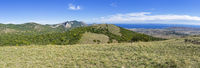 Tokluk mountain range. Crimea.