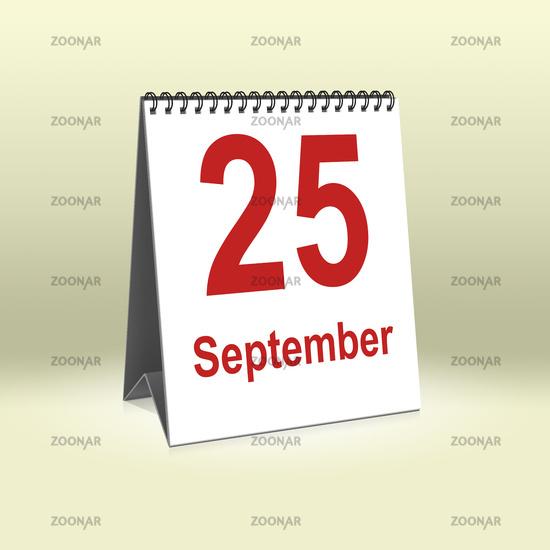 September 25th | 25.September