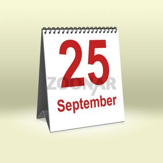 September 25th   25.September