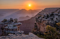 Sunrise at the Grand Canyon, Arizona, USA