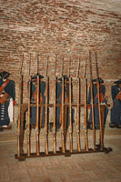Gunroom in the Old Fort
