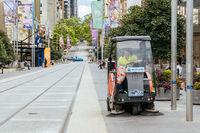 Bourke St in Melbourne During Coronavirus Pandemic