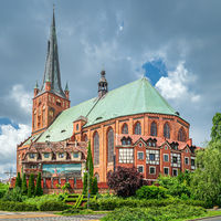 The Cathedral Basilica of St James the Apostle in Szczecin