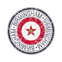 City of Birmingham, Alabama vector stamp