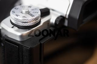 Mode dial of a digital camera