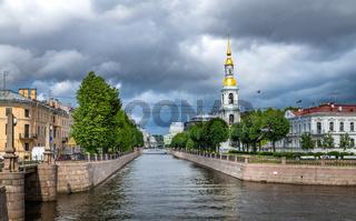 Nikolsky Marine sobor or St.Nicholas Cathedral, St.Petersburg, Russia