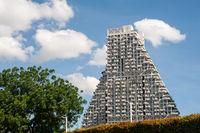 Singapur, Republik Singapur, Wohnhochhaus Sky Habitat in Bishan von Moshe Safdie
