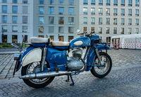 nostalgic motorcycle