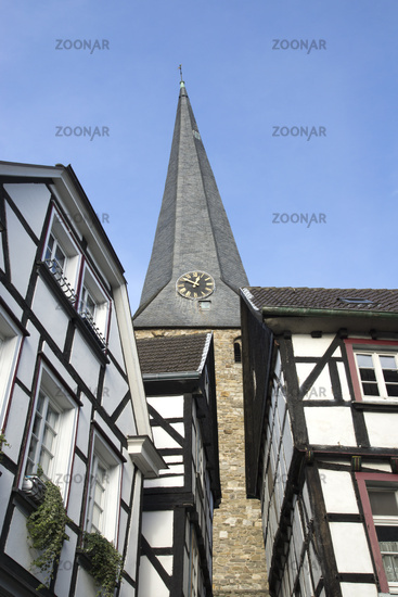 Steinhagen and Church Sankt Georg in Hattingen, Ge