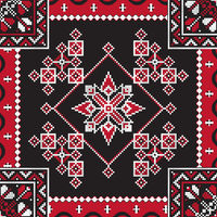 Romanian traditional pattern 213