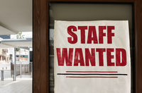 Staff wanted notice