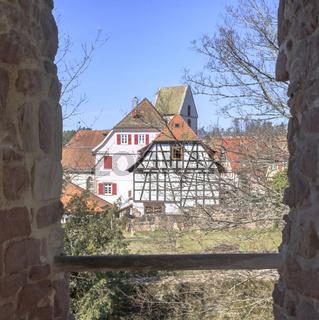 Burgruine Zavelstein, März
