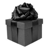 Black friday gift on white