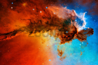 Awesome space background. Elements of this image furnished by NASA