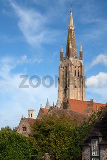 Historic city of Bruges, Belgium